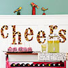 Cheerful Cork Letters
