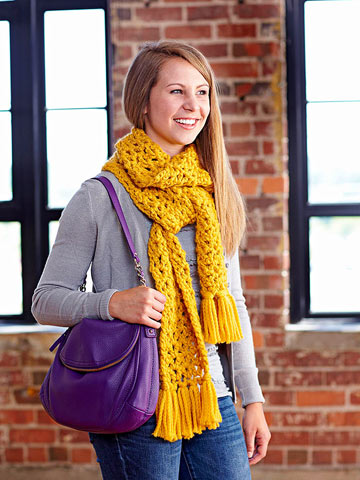 Stylish Scarves to Knit and Crochet