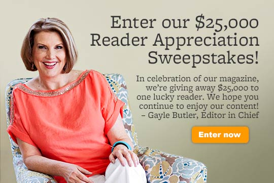 $25,000 Reader Appreciation Sweeps