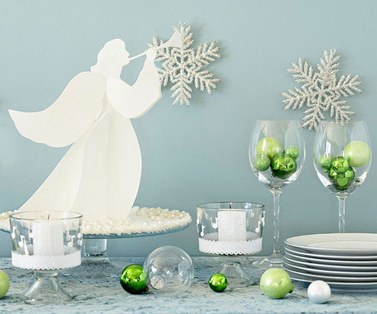 Trumpeting Paper Angel for Christmas