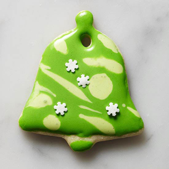 Bell-Shape Ornament Cookies