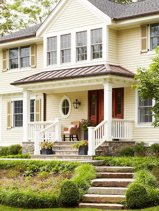 Exterior color cues for Yellow exterior paint colors