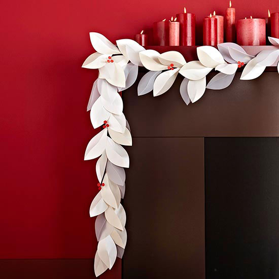 3 Cute DIY Christmas Garlands