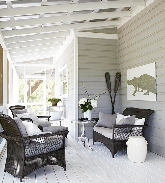 Back Porch Design Ideas