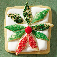 Wreath Almond Sugar Cookies