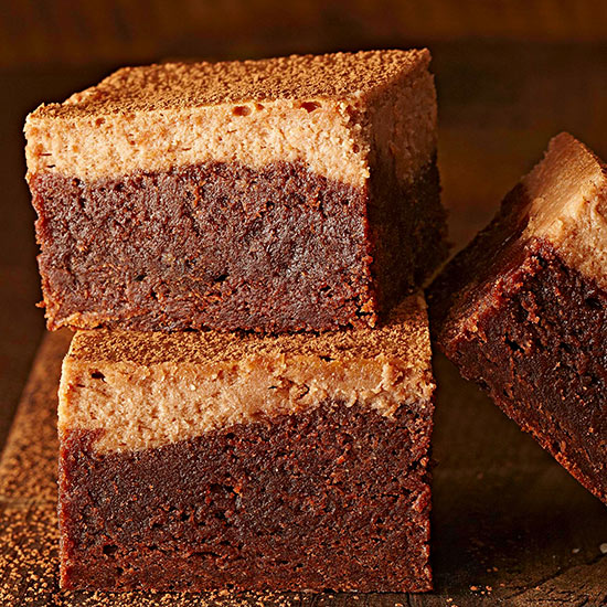 Cheesecake Brownies - Better homes and gardens brownie recipe