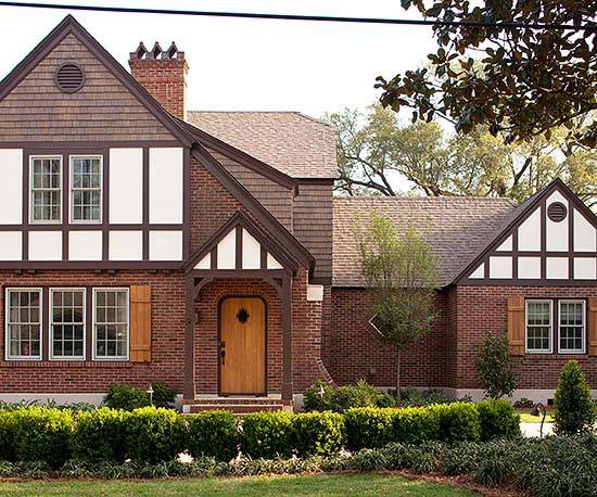 Tudor style home ideas for Tudor siding