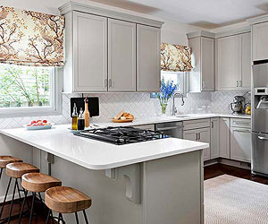 Small Kitchen Backsplash Ideas make a small kitchen look larger
