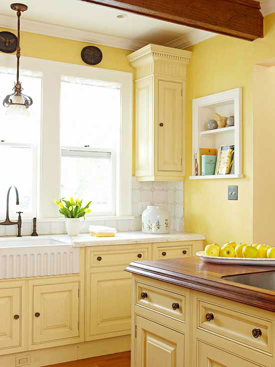 Instant Kitchen Cabinets : Kitchen cabinet color choices