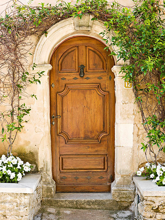 Worldly influence front doors for European entry doors