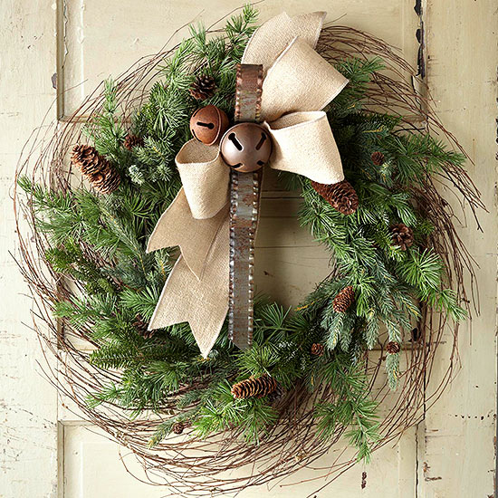 How to Make a Birch Branch Wreath