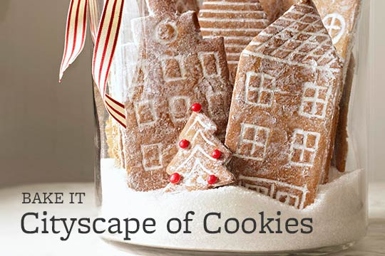 Cityscape of Cookies