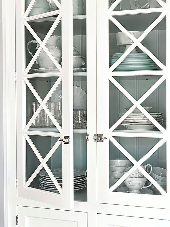 Glass-Front Cabinets