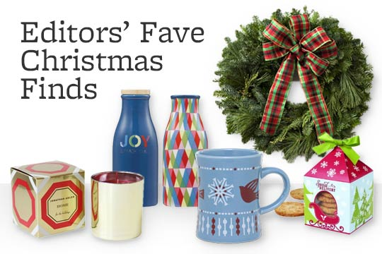 Editors' Fave Christmas Finds