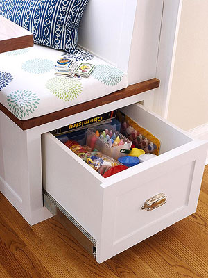 Clever Storage-Packed Cabinets and Drawers