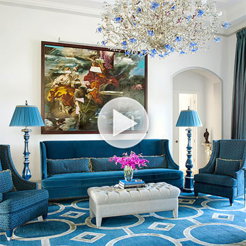 Designer Tips for Luxe Living Rooms