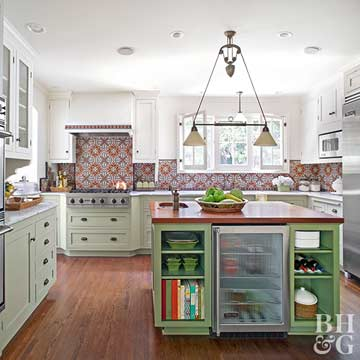 Tips for Using Color in the Kitchen