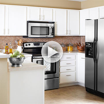 Blah-to-Beautiful Budget Kitchen