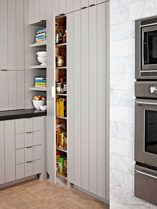 Walk-In and Reach-In Pantry Ideas