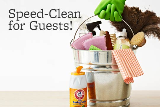 Speed-Clean for Guests!