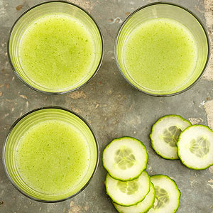 Cucumber-Mint Hydration Smoothies