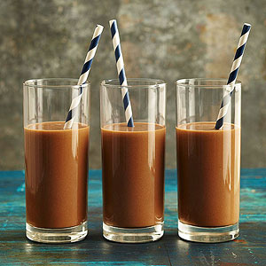 Energizing Mocha-Almond Smoothies