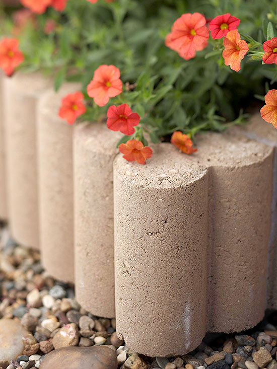 How to Make a Concrete Edge Planter