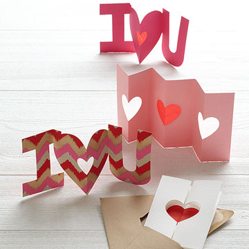 Handcrafted Cards for Valentine's Day