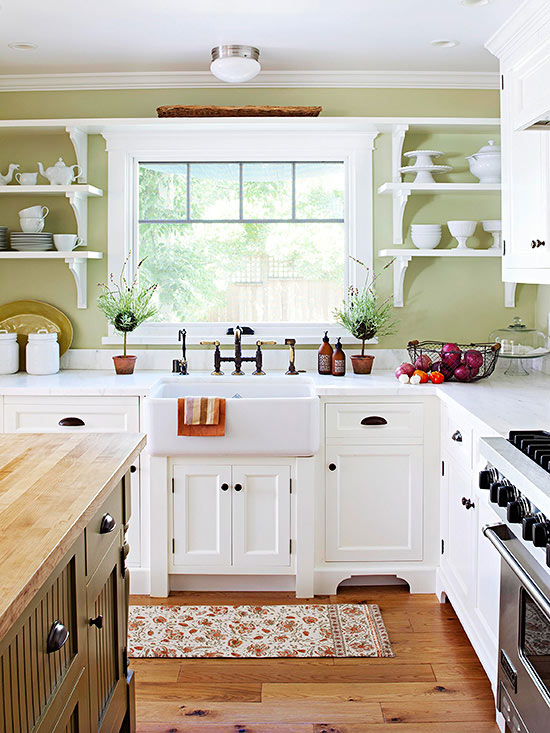 White Country Kitchen Images country kitchen ideas