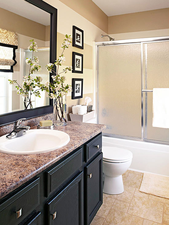 Done in a weekend bathroom refreshes real estate blog for 9x5 bathroom ideas