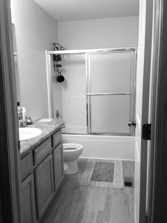 DoneinaWeekend Bathroom Refreshes Real Estate Blog Cliff Curtis Simple 9X5 Bathroom Style