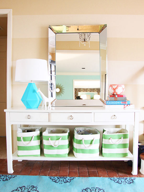 House Tour: Bright, Preppy Style