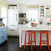 Create a Custom White Kitchen