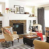 Family-Friendly Living Rooms