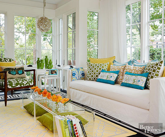 Decor to adore sunroom d cor ideas for Sunroom decor