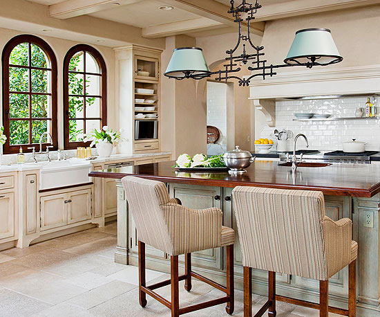 Internationally Inspired Dream Kitchen