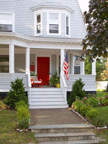 What's Hot: Colorful Front Doors