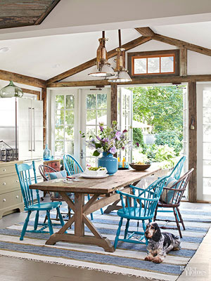 Casual Dining Rooms: Looks to Try for an Eat-In Kitchen or Casual Dining Room