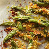 Crunchy Parmesan Sugar Snap Peas