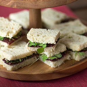 Bresaola and Truffle Butter Sandwich