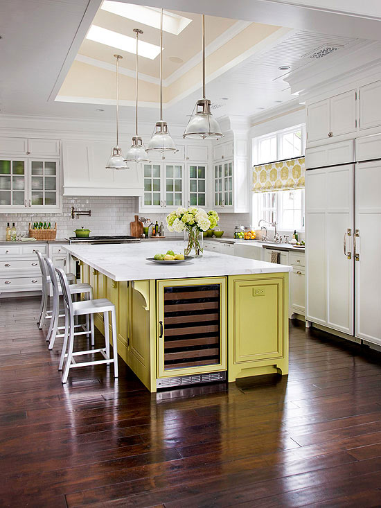 We Can T Get Enough Of White Cabinets Dark Floors