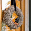 Moss-Filled Halloween Wreath
