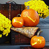 Skeleton Key Pumpkins