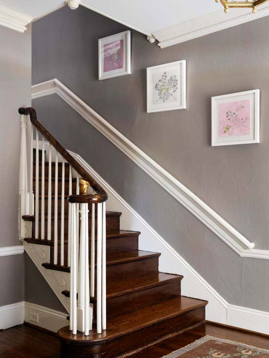 Staircase pictures - Staircases with integrated bookshelves ...