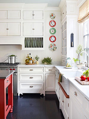 Kitchen wall decor - Decorating ideas cheerful kitchen ...