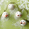 Snowman-Face Ornaments