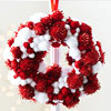 Mini Pom-Pom Wreath Ornament