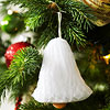 Honeycomb-Paper Bell Ornament