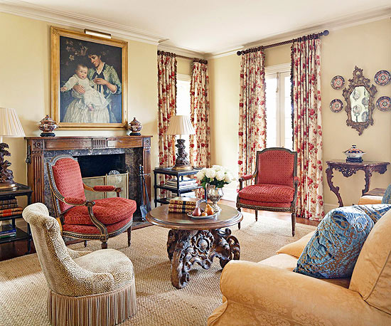 Country Living Rooms And Living Room French Country Living Magazine