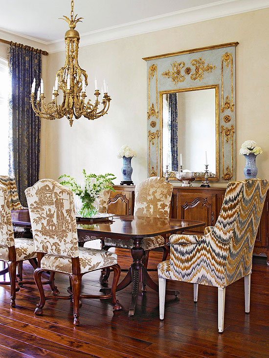 . Country French Dining Room